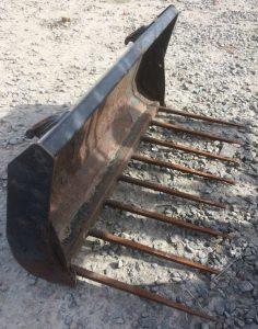 ALO Quicke Euro No. 8 1.5m muck fork for sale