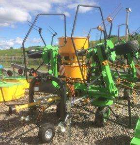 MTL 5.5m 4 rotor hay silage tedder for sale