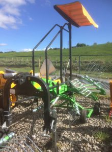 MTL L420 4.2m single rotor rake for sale