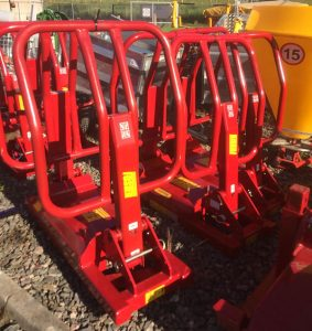 Foster Soft Hands R5 silage bale vertical stacker for sale