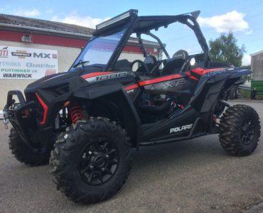 Polaris RZR XP1000EPS Extreme Performance 2 seat ATV with road kit for sale
