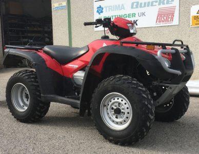Honda Foreman TRX500FE 4×4 ATV for sale – SOLD