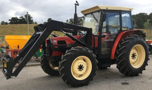 SAME Explorer II 80 Special 4wd tractor for sale