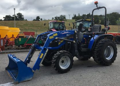 Solis 26 compact tractor with loader for sale