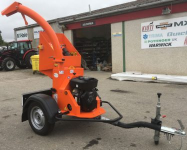 Timberwolf TW18/100G road tow 4 inch chipper for sale