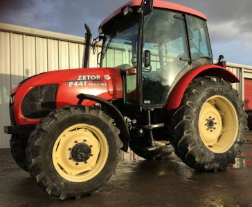 Zetor Proxima 8441 90hp 4wd tractor for sale – SOLD