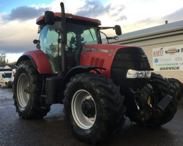 Case Puma 160 CVX 50k 4wd tractor for sale – SOLD