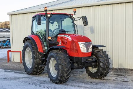 McCormick X5.55 115hp 4wd tractor for sale