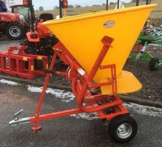 Trailed ATV salt fertiliser spreader for sale