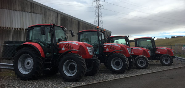McCormick X4.30 70hp 4wd tractor for sale