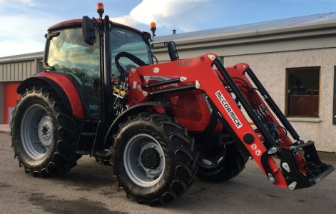 McCormick X5.55 115hp 4wd tractor with M20 IH front loader for sale – SOLD