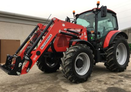 McCormick X5.35 100hp 4wd tractor with M20 IH front loader for sale – SOLD