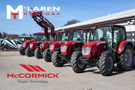 New McCormick X4, X5, X6 and X7 Tractors for sale