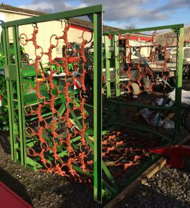 MTL 6m hydraulic folding grass harrows for sale