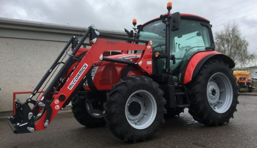 McCormick X4.60 100hp 4wd tractor with front loader for sale