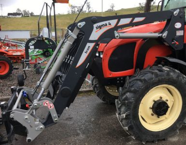 Sigma 4 tractor front loaders supplied and fitted for sale