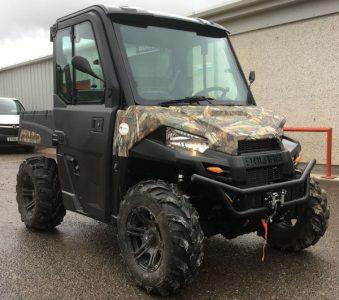 Polaris Ranger 570 Hunter 4×4 2 seat ATV ORV for sale – SOLD