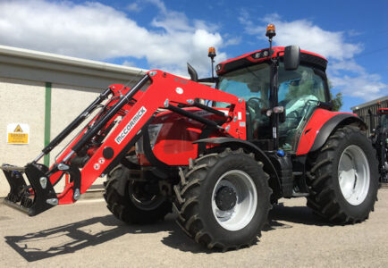 McCormick X6.420 Power-plus 120hp tractor with loader for sale – SOLD