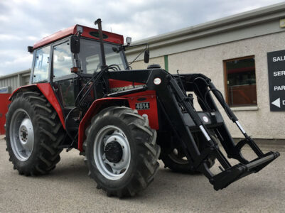 Ursus 4514 (MF375) 4wd tractor with loader for sale – SOLD
