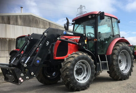 Zetor Proxima 100 99hp 4wd tractor with loader for sale