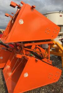 MTL 1.5 metre Self loading gritter salt spreader for sale