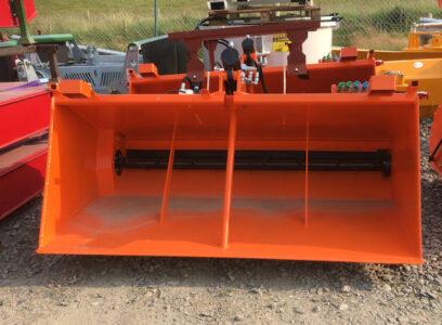 MTL 2 metre Self loading gritter salt spreader for sale