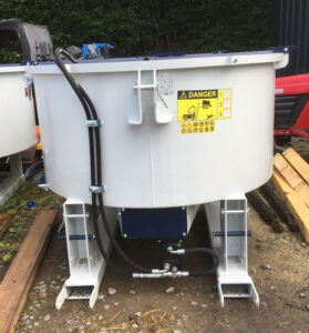 MTL 800 litre Hydraulic drive Pan mixer for sale