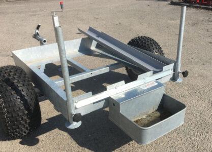 Glendale IBC water trough ATV trailer for sale