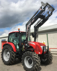 McCormick X5.55 115hp 4wd tractor with Iron 20 hydraulic self levelling loader for sale – SOLD